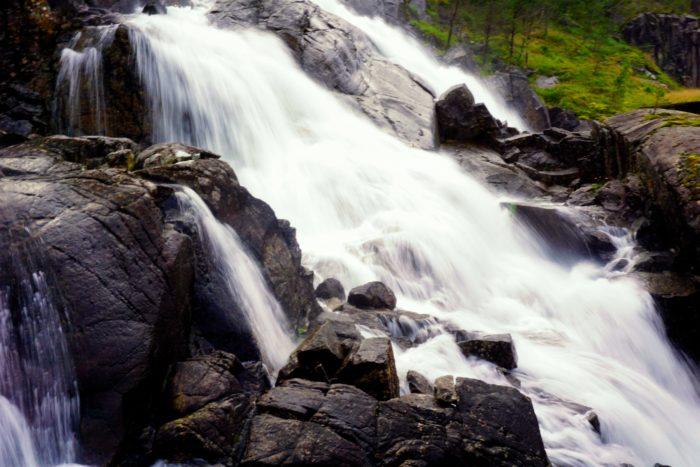 Langfoss, Norwegen